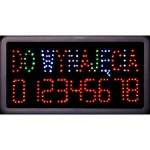 Tablica LED Do Wynajęcia + Numer