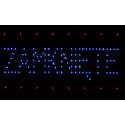 Tablica Otwarte - Zamknięte LED tablice czerwono-niebieska
