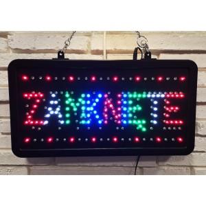 Tablica Otwarte - Zamknięte LED tablice mix kolorów
